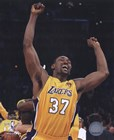 Ron Artest - 2010 NBA Finals Game 7 Celebration (#18) art print