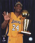 Kobe Bryant - 2010 NBA Finals Game 7 - Championship Trophy/5 Fingers in Studio(#27) art print